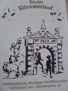 Emder Silvesterlauf 2013 Ausschreibungsgrafik